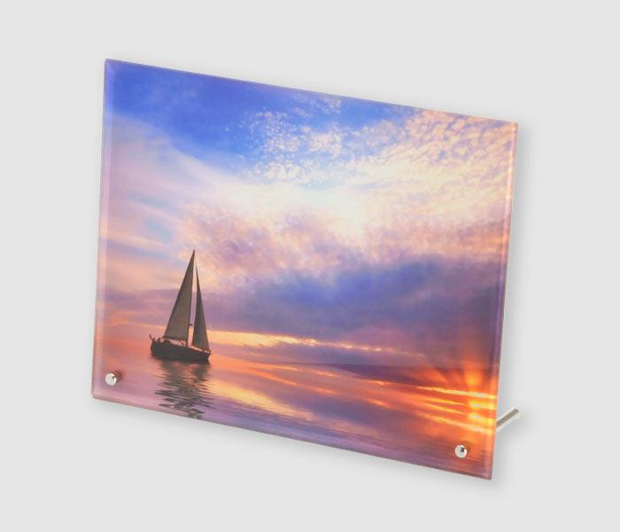 "X10 Outdoor Lighting: Photo Glass 8""x10"" Landscape"
